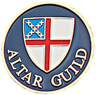 Altar Guild Lapel Pin - Episcopal Shield