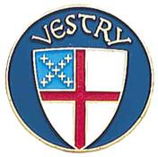 Vestry Lapel Pin - Episcopal Shield