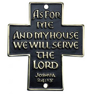 As For Me and My House Blessing Door/Wall Sign
