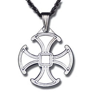 Canterbury Cross - Sterling Silver