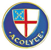 Acolyte Lapel Pin - Episcopal Shield