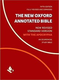 The New Oxford Annotated Bible with Apocrypha: New Revised Standard Version, 5th Edition (Hardcover)