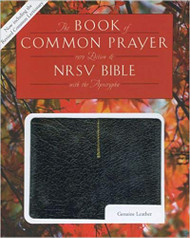 Book of Common Prayer (1979 RCL edition) and the New Revised Standard Version Bible with Apocrypha, Black