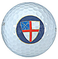 Episcopal Shield Golf Balls - Sleeve of 3
