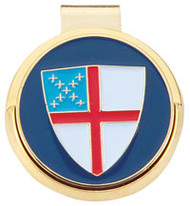 Golf Hat Clip with Episcopal Shield