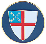 Golf Ball Marker with Episcopal Shield