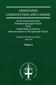 Annotated Constitution and Canons