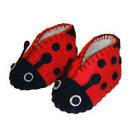 Ladybug Zooties (Baby Booties)