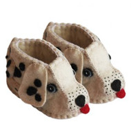 Dalmation Zooties (Baby Booties)