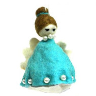Angel Ornament - Blue