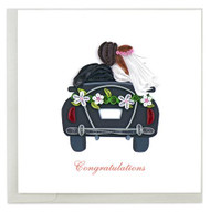 Just Married Note Card