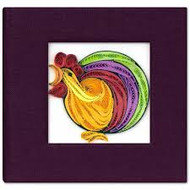 Rooster Sticky Notebook Cover