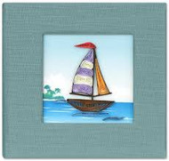 Sailboat Sticky Notebook Cover