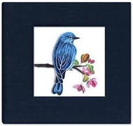Bluebird Sticky Notebook Cover