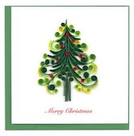 Christmas Tree Note Card