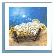 Manger Scene Note Card