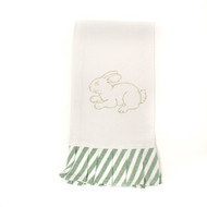 Peter Cottontail Ruffle Hand Towel