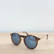 Copy of Solana Sunglasses - Tortoise/Blue