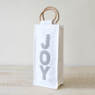 Joy Herringbone Wine Bag