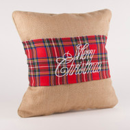 Breckenridge Merry Christmas Pillow Wrap