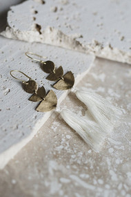 Lucia Earrings - Ivory