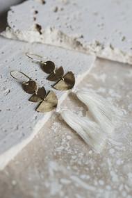 Lucia Earrings - Ivory