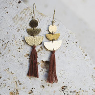 Lucia Earrings - Cinnamon