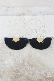 Copy of Favorite Fringe Earrings - Black