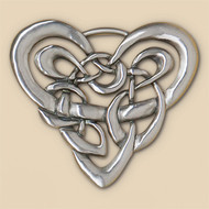 Celtic Heart Wall Plaque