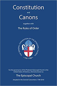 Constitution and Canons together with the Rules of Order 2018