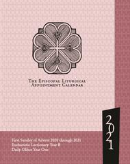 Episcopal Liturgical Appointment Calendar 2021 (13 months: Nov. 2020 - Dec. 2021)
