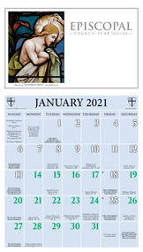 Episcopal Church Year Guide Kalendar (Calendar) 2021