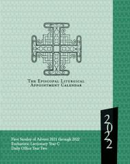 Episcopal Liturgical Appointment Calendar 2022 (13 months: Nov. 2021 - Dec. 2022)