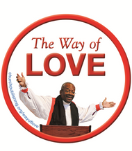 The Way of Love Button (Pack of 25)