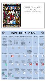 Churchman's Ordo Kalendar (Calendar) 2022
