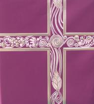 Ceremonial Binder - Light Purple with Silver Foil