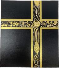 Ceremonial Binder - Black with Gold Foil