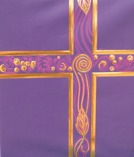 Ceremonial Binder - Purple with Gold Foil