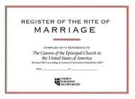 Register of Marriages #50 - Small Size