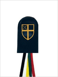 Large Episcopal Five Ribbon Bookmark