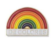 De Colores Rainbow Lapel Pin
