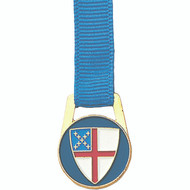 Episcopal Shield Ribbon Bookmark