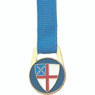 Episcopal Shield Ribbon Bookmark