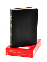 The New Oxford Annotated Bible with Apocrypha: Revised Standard Version (Genuine Leather, Black)