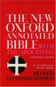 The New Oxford Annotated Bible with Apocrypha: Revised Standard Version (Hardcover)