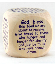 Prayer Cube: Mealtime