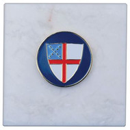 Episcopal Shield 3x3 Paperweight