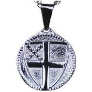 Episcopal Shield Pendant (Stainless)