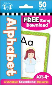 Alphabet Flash Cards (A Christian Educational Resource)