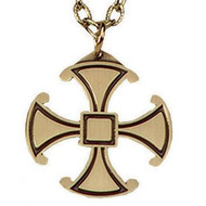 Bronze Canterbury Cross Pendant